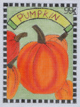 SP8 Pumpkin BB Needlepoint Designs  18 Mesh  3x5