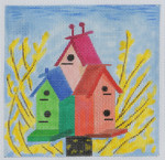 BH1 Apt House BB Needlepoint Designs  18 Mesh   4x4 With Stitch Guide