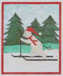 BBT5 Frosty on Skiis BB Needlepoint Designs 18 Mesh 3x5