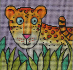 AN324 Whimsy tiger  5x5 18 Mesh  Colors of Praise
