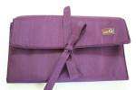 Denise in a Della Q for Crochet Purple with Lavender cords
