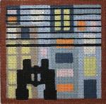 M134 Melissa Prince 4 x 4 Rear Window