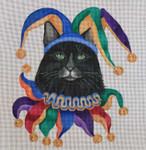 CC03 Mardi Gras Jester 12x12 Nenah Stone Designs COSTUME CAT 18 Mesh
