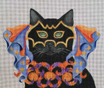 CC04 Halloween Masquerade 12x10 Nenah Stone Designs COSTUME CAT 18 Mesh