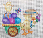 EA65 Easter Duck Delivery 6x6 Nenah Stone Designs 18 Mesh