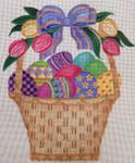 EA54 Easter Basket 12x12 Nenah Stone Designs 13 Mesh