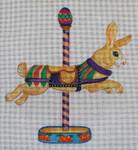 EA75 Carousel Bunny 8x10 Nenah Stone Designs 18 Mesh