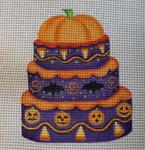 HW142 Pumpkin Cake 9x6 Nenah Stone Designs 18 Mesh