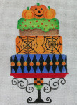HW139 Halloween Party Cake 9x6 Nenah Stone Designs 18 Mesh