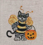 HW192 Bee Kitty 4x3 Nenah Stone Designs 18 Mesh