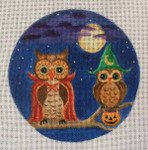 "HW178 What A Hoot 6"" Round Nenah Stone Designs 18 Mesh"