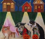 HW154 Halloween Night 8x7 Nenah Stone Designs 18 Mesh
