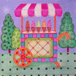 SS184 Ice Cream Cart 8x10 Nenah Stone Designs 18 Mesh