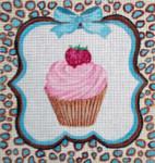 SS194 Strawberry Cupcake 7x7 Nenah Stone Designs 18 Mesh