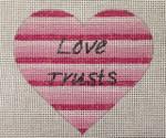 8004 18 Mesh  Love Trusts 4 x 4 Purple Palm