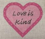 8002 18 Love is Kind 4 x 4 Purple Palm