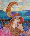 212 Aguas Linda Portrait 10 x 12 18 Mesh Purple Palm