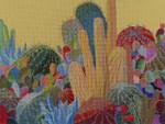 104 Desert Garden 18 Mesh 12x16 Purple Palm Designs