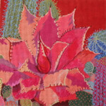 102 Desert Agave 8 x 8 18 MeshPurple Palm