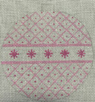 2204-PK Pink Glitter 4x4 18 Mesh  Purple Palm Designs