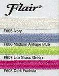F606 Medium Antique Blue Flair Rainbow Gallery
