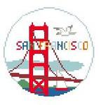 BT160 San Francisco Round Kathy Schenkel Designs 4 x 4