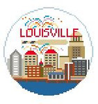 BT158 Louisville Round Kathy Schenkel Designs 4 x 4