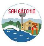BT156 San Antonio Round Kathy Schenkel Designs 4 x 4