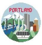 BT152 Portland Round Kathy Schenkel Designs 4 x 4