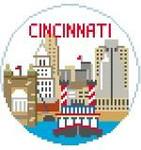 BT144 Cincinnati Round Kathy Schenkel Designs 4 x 4
