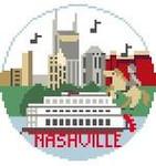 BT143 Nashville Round Kathy Schenkel Designs 4 x 4
