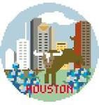 BT142 Houston Round Kathy Schenkel Designs 4 x 4