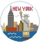 BT139 New York Round Kathy Schenkel Designs 4 x 4