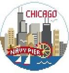BT138 Chicago Round Kathy Schenkel Designs 4 x 4