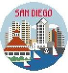 BT136 San Diego Round Kathy Schenkel Designs 4 x 4