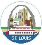 BT135 St. Louis Round Kathy Schenkel Designs 4 x 4
