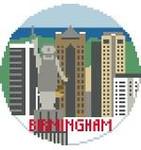 BT134 Birmingham Round Kathy Schenkel Designs 4 x 4