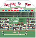 BG117 Fenway Park  Kathy Schenkel Designs 8 x 7.5