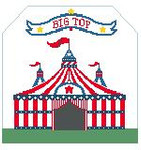 BG114 Big Top Cricus Kathy Schenkel Designs 8 x 7.5
