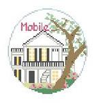 "BT243 Mobile, AL Kathy Schenkel Designs  4"" Diameter"