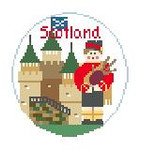 "BT615 Scotland Kathy Schenkel Designs  4"" Diameter"
