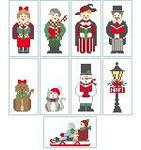 CO989 Tiny Victorian Man Only Kathy Schenkel Designs 1.5 x 3