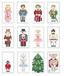 CO970 Tiny Snow Princess Only Kathy Schenkel Designs 1.75 x 3