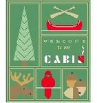 SA106 Cabin Sampler w/SG Kathy Schenkel Designs 8 x 10