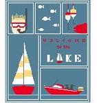 SA104 Lake Sampler w/SG Kathy Schenkel Designs 8 x 10