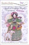 Brooke's Books Spirit Of Knitting Angel Ornament