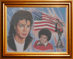 Cody Country Crossstitch & Crafts Michael Jackson-American Legend