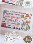 OCTOBER MARIGOLD - MY GARDEN JOURNAL SERIES (CS) 125w x 74h Cottage Garden Samplings