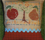 AUTUMN FRUIT (CS) 88w x 58h Country Garden Stitchery