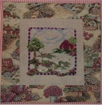 BAA BAA WHITE SHEEP (CS)  Country Garden Stitchery